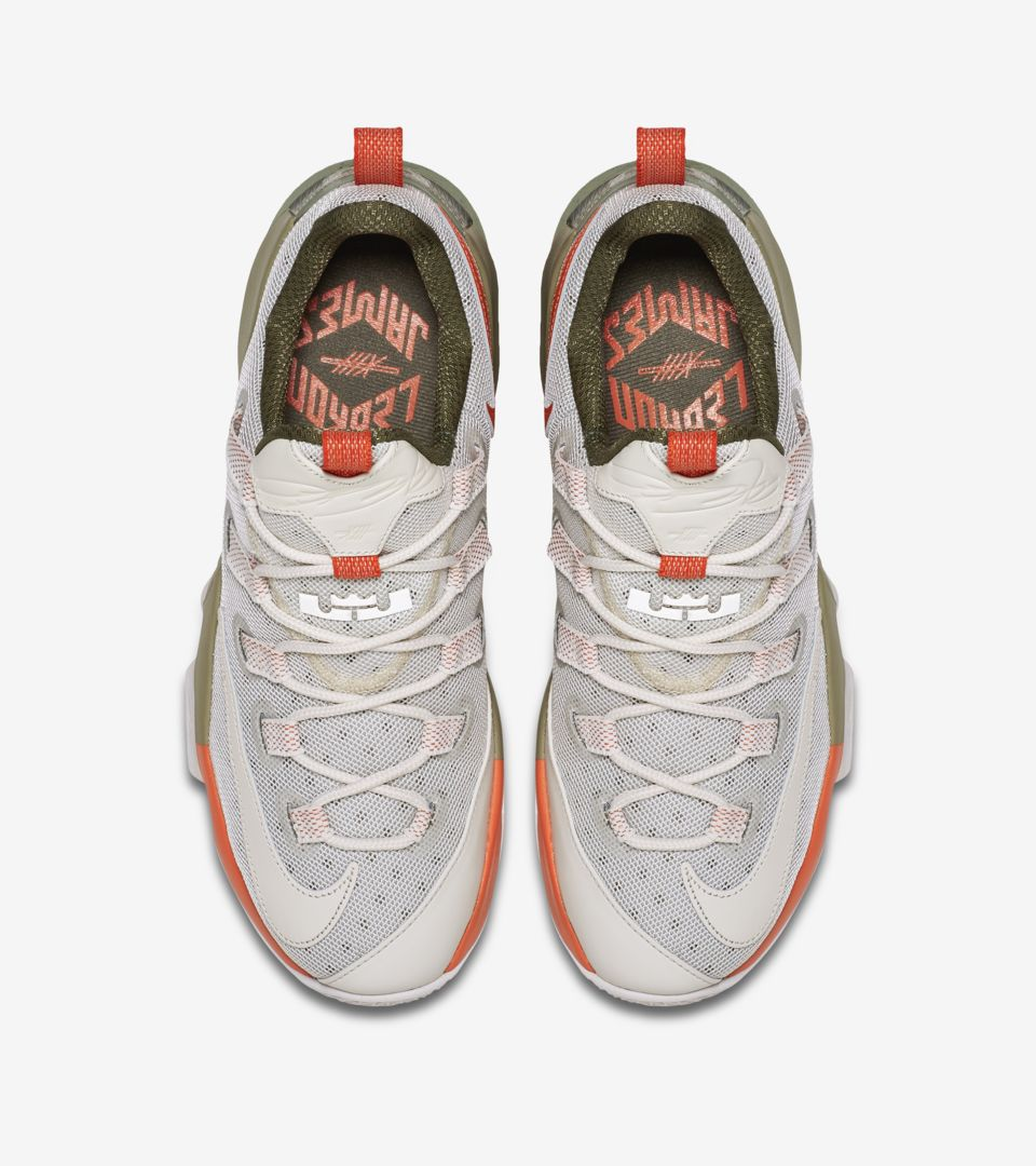 new style 9569d 49676 Nike LeBron 13 Low 'Phantom & Olive' Release Date. Nike+ SNKRS