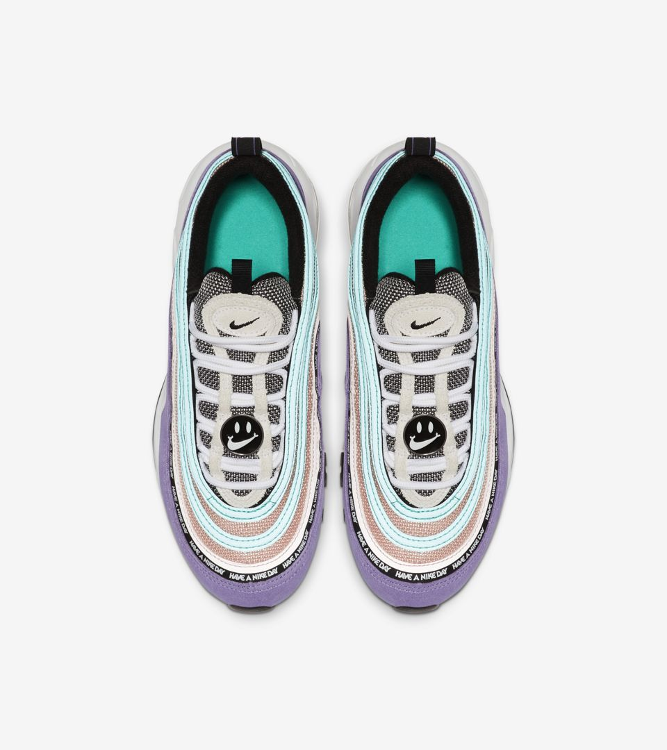 Big Kids' Nike Air Max 97 Have A Nike Day 'Space Purple & Black' Release Date.