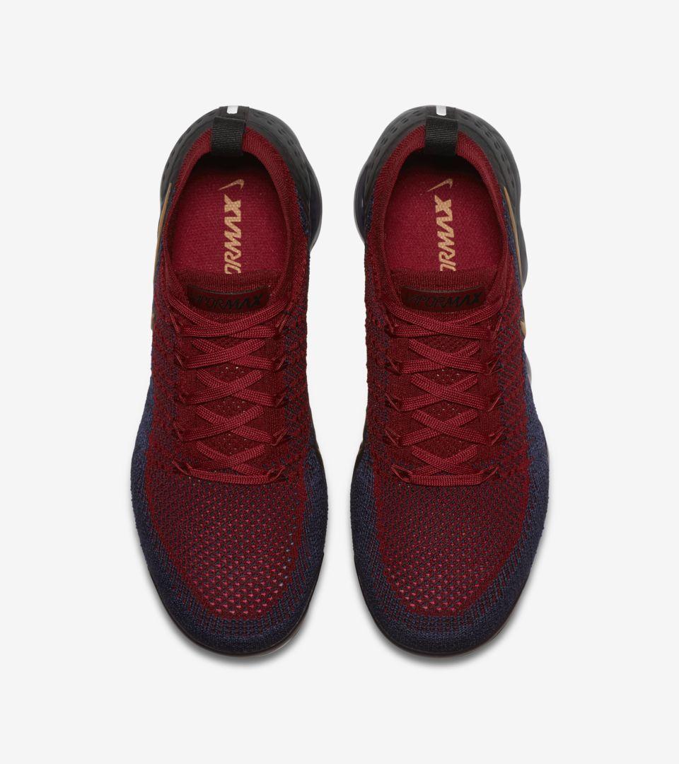 85e13730a0 Nike Vapormax 2 Flyknit 'Team Red & Obsidian & Black' Release Date. Nike+  SNKRS