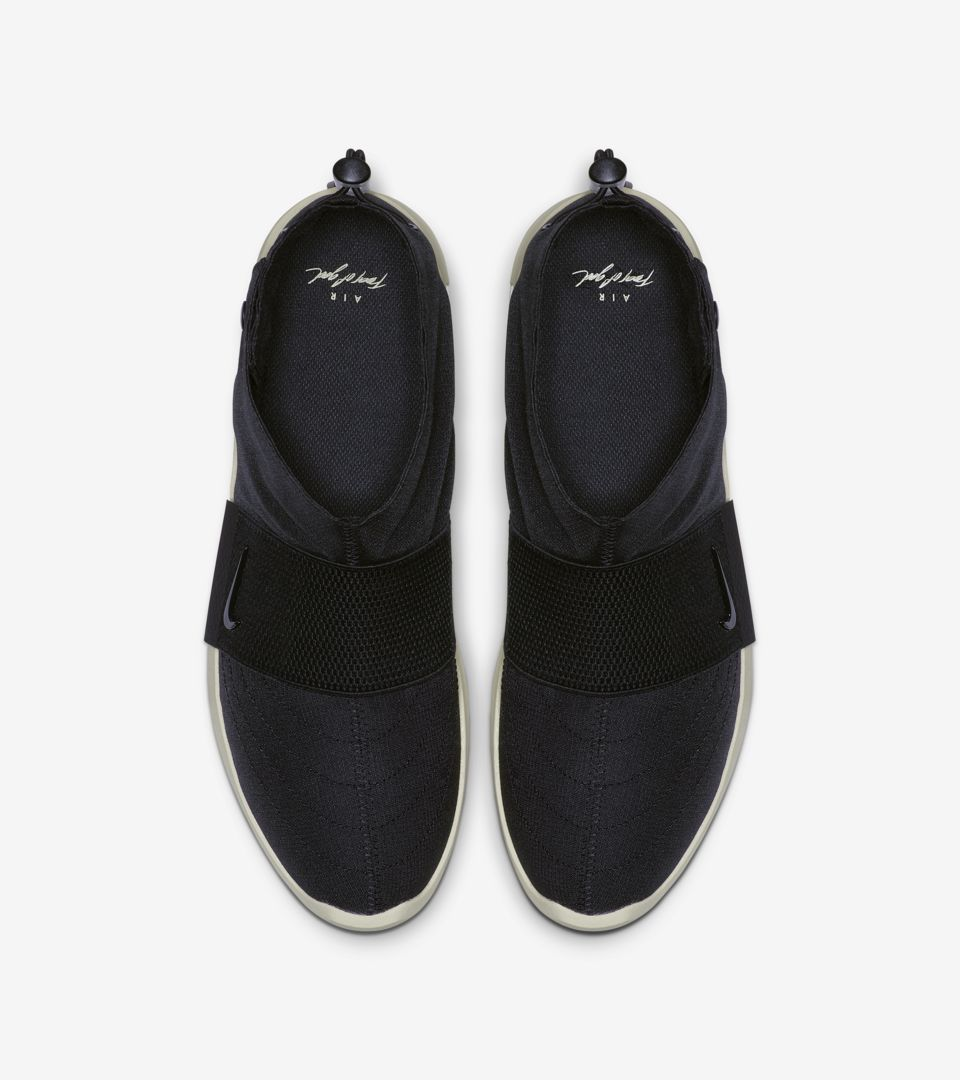 Air Fear Of God MOC Black & Fossil Release Date