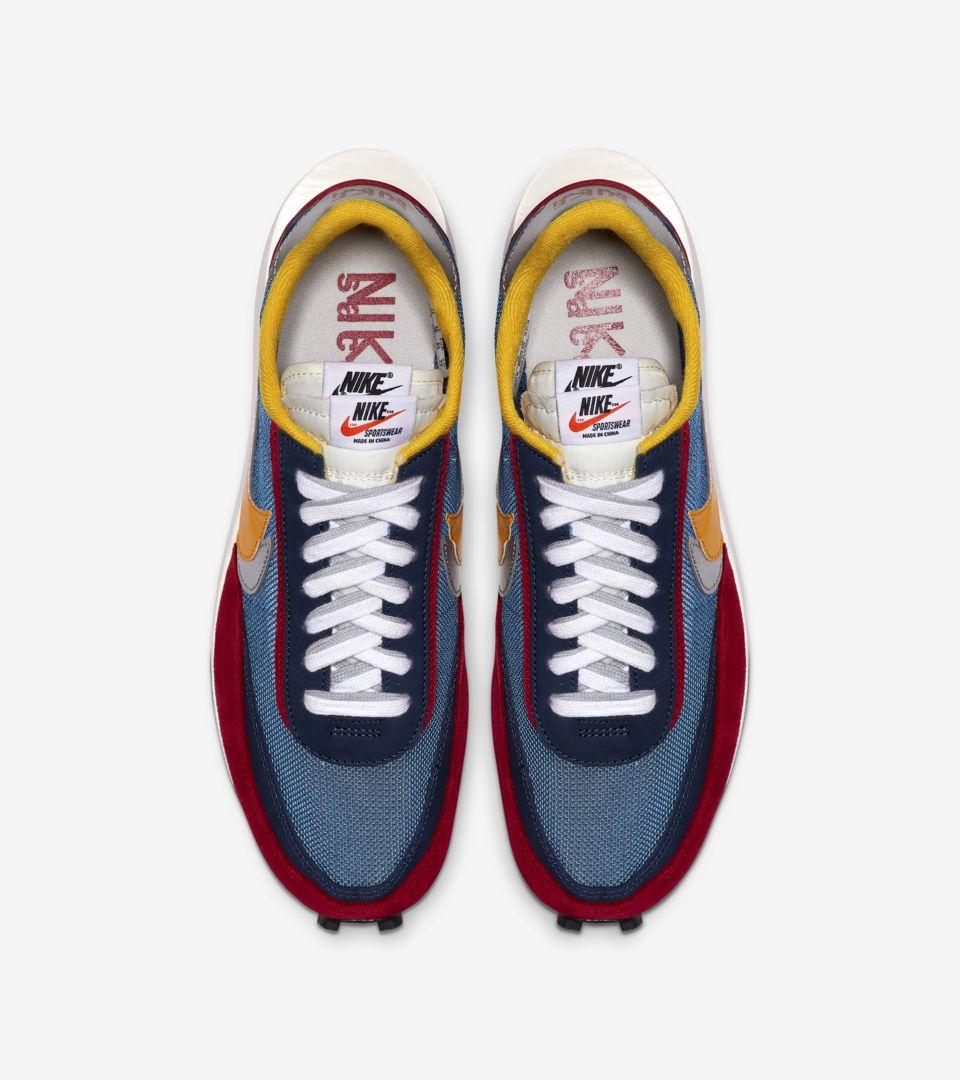 Nike LDWaffle Sacai 'Varsity Blue & Varsity Red & Del Sol' Release Date