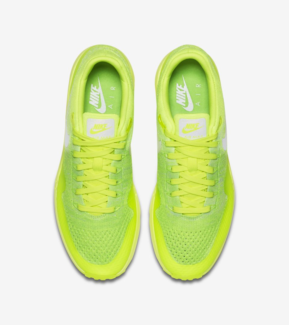 24389cb76500 Nike Air Max 1 Ultra Flyknit  Volt  Release Date. Nike+ SNKRS