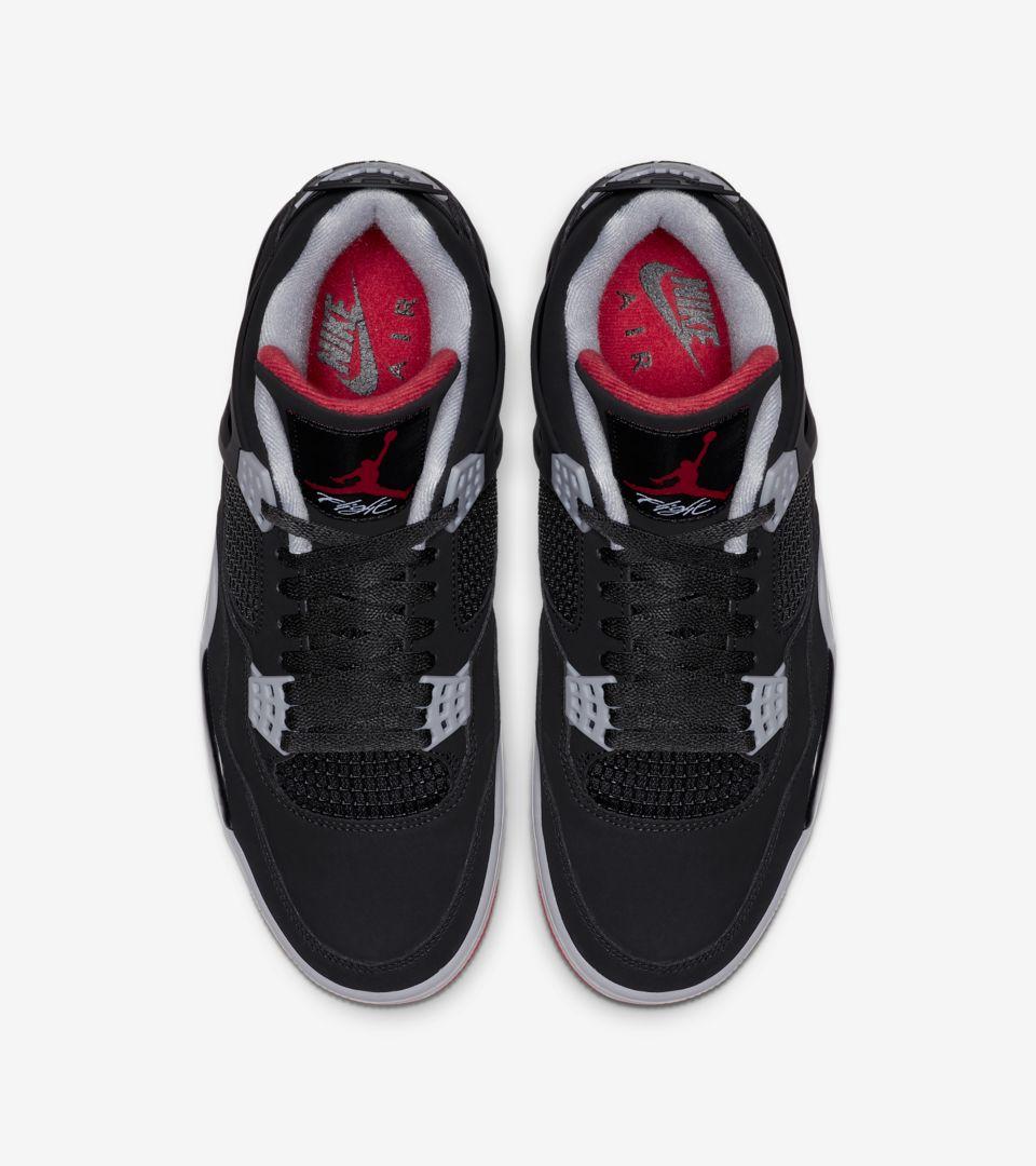 Nike Air Jordan 4 Retro OG 'Bred' Release Date