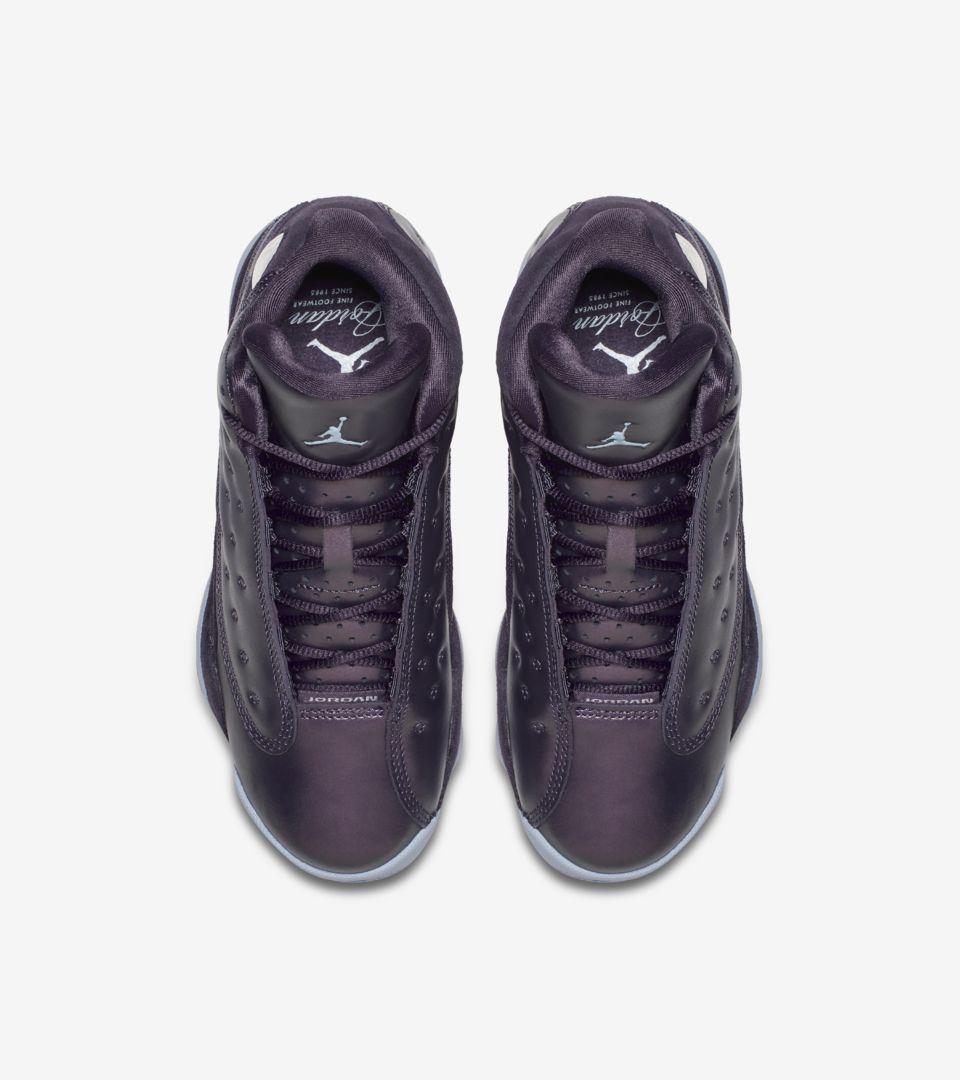 cb9910b7322 Air Jordan 13 GG Heiress 'Dark Raisin & Hydrogen Blue' Release Date ...
