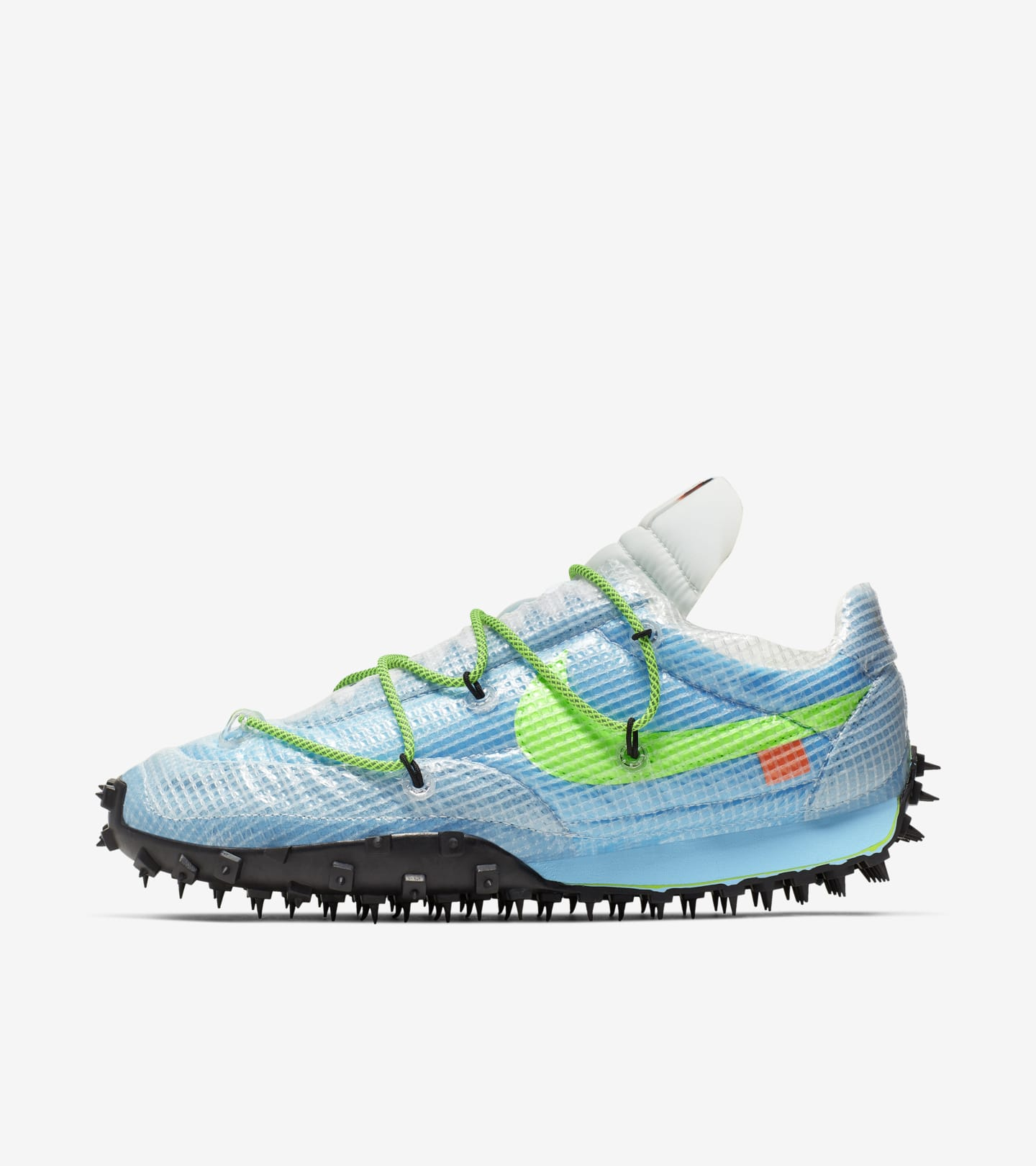 Nike x Off White Waffle Racer 'Athlete in Progress' voor