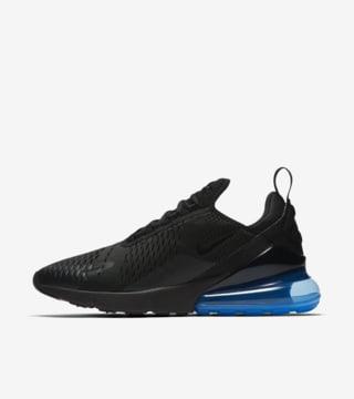 Nike Air Max 270 'Black \u0026 Hot Punch