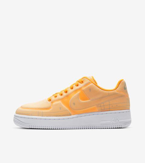 nike air force 1 femme blanche et orange