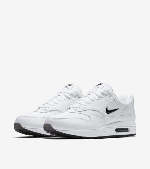 Nike Air Max 1 Jewel Black White