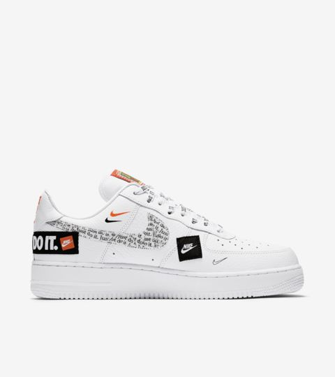 nike x air force 1 just do it femme