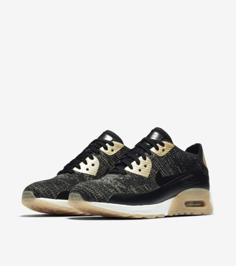 Nike Wmns Air Max 90 Ultra 2.0 Flyknit Metallic | 881563 001