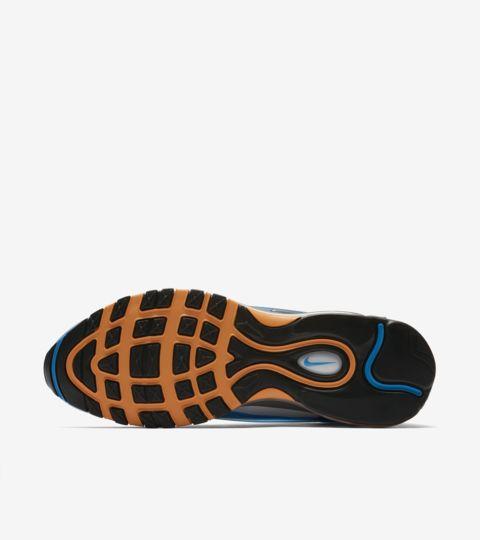 """Nike Air Max Deluxe """"Fotókék, farkasszürke és narancshéj"""