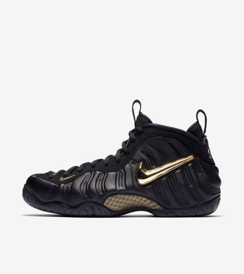 official site lace up in later Nike Air Foamposite Pro 'Black & Metallic Gold' Release Date. Nike ...
