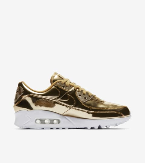 Air Max 90 'Metallic Gold' Release Date. Nike SNKRS