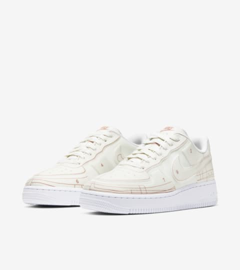 Nike Wmns Air Force 1 '07 LX Summit White Summit White University Red