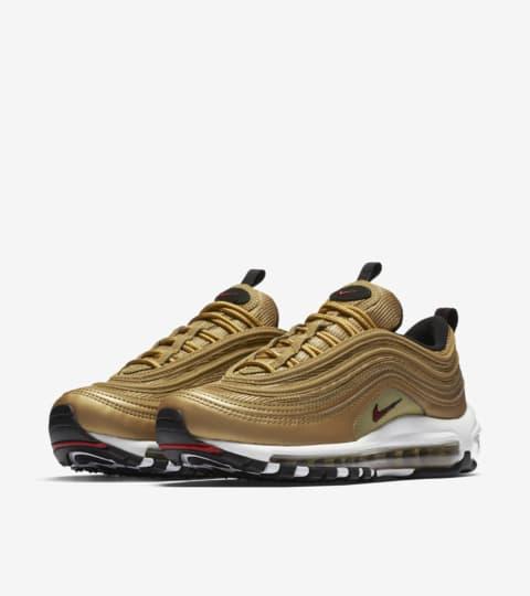 Women's Nike Air Max 97 OG QS 'Metallic Gold' Release Date ...