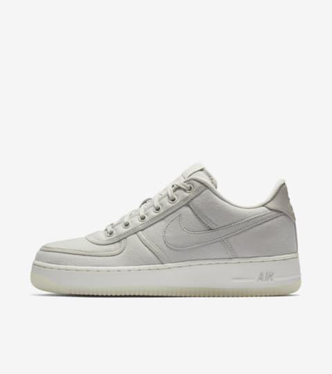 nike air force 1 white canvas