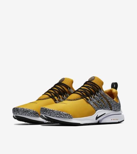 nike presto safari yellow