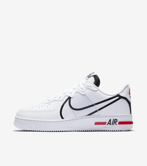 air force 1 react white