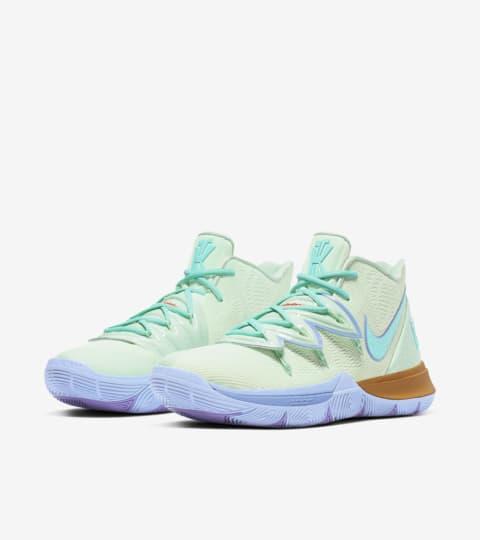 kyrie spongebob shoes foot locker