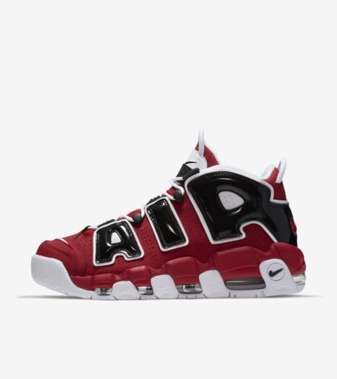 nike air more uptempo nere e rosse