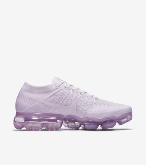 Womens Nike Air VaporMax Flyknit Light Purple Shoes