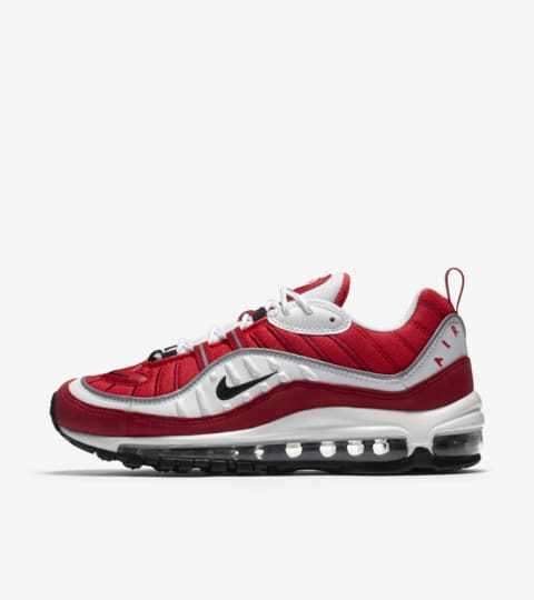 air max 98 rosse e bianche