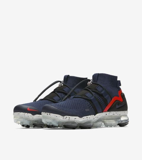 Nike Air VaporMax Utility 'College Navy & Habanero Red