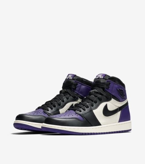 Air Jordan 1 Retro 'Court Purple' Release Date. Nike SNKRS