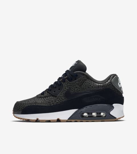 Women's Nike Air Max 90 'Black Safari'. Nike SNKRS
