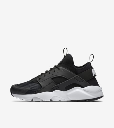 Nike Air Huarache Ultra 'Black & White Anthracite'. Nike SNKRS