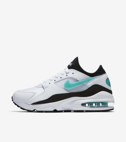 insidesneakers • Nike Air Max 93 White Sport Turquoise