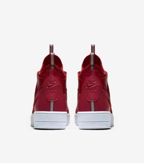 "Nike Air Force 1 Ultra Force Mid ""Gym Red & White"". Nike"