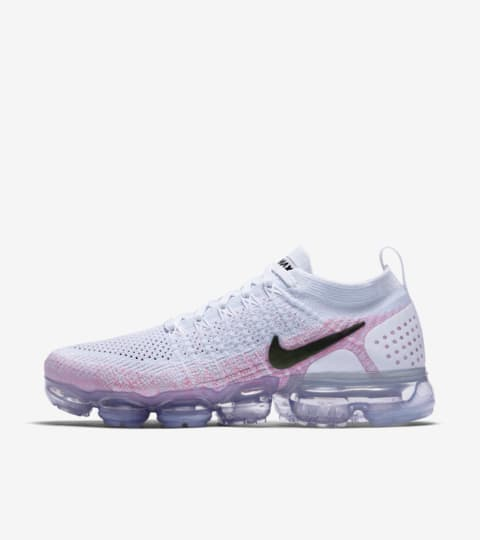 nike air vapormax womens white and pink