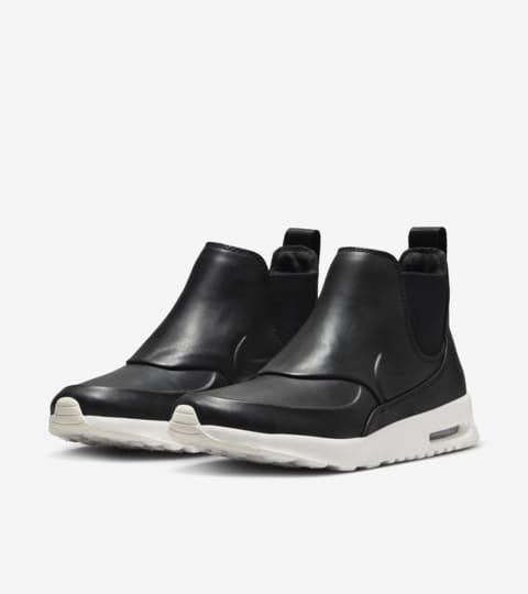 Nike Air Max Thea Mid « Black & White » pour Femme. Nike