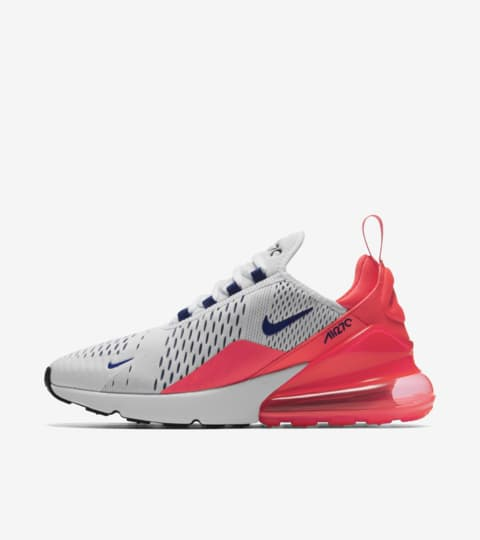 Nike Womens Air Max 270 'Ultramarine & Solar Red' Release ...