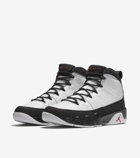 womens Air jordan 9 Air Jordan 9 Retro OG 'White & Black' 2016 Release Date.. Nike ...