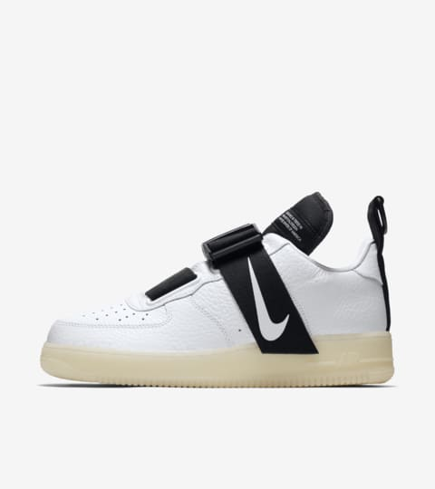 Órgano digestivo colina techo  Nike Air Force 1 Utility 'White & Black' Release Date. Nike SNKRS