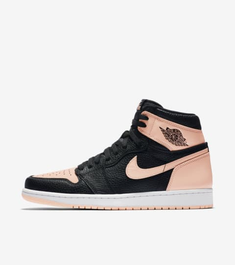 air jordan 1 mid rosa gold