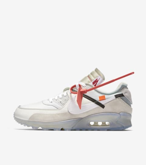 nike air max 90 x off white release