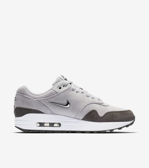 Nike Womens' Air Max 1 Premium 'Wolf Grey & Metallic Pewter ...