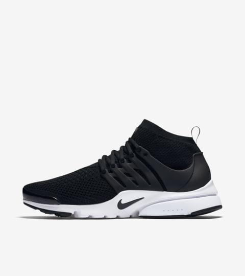Nike Air Presto Ultra Flyknit 'Black & White' Release Date ...