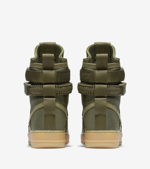 """Buty Nike Special Field Air Force 1 """"Faded Olive & Gum"""