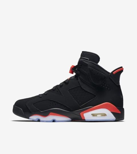 Air Jordan 6 Retro OG 'Infared' Release Date. Nike SNKRS