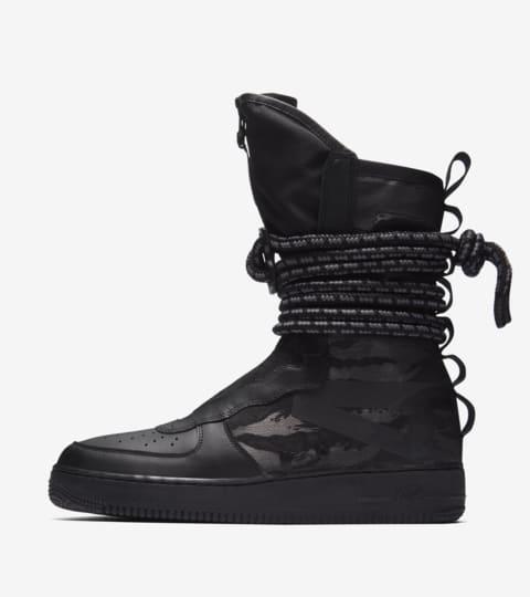 Date de sortie de la Nike SF AF1 Hi « Black & Dark Grey