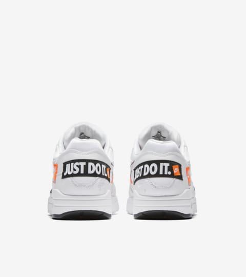 Nike Air Max 1 Just Do It Collection 'White and Total Orange