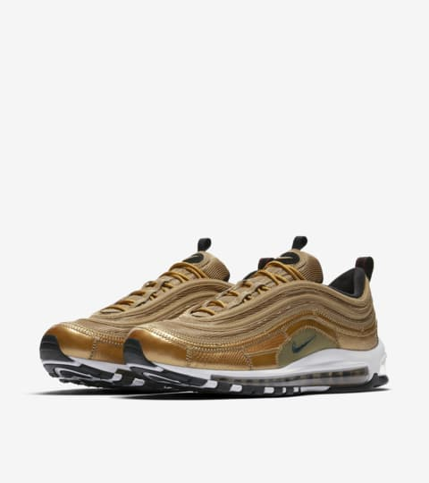 Nike Air Max 97 CR7 'Golden Patchwork' Release Date. Nike SNEAKRS GB