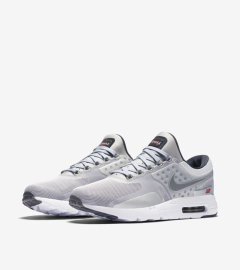 air max zero metallic silver
