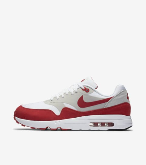 Nike Air Max 1 Ultra 2.0 LE 'White & University Red
