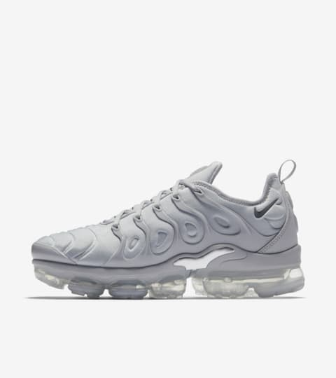 Nike Air Vapormax Plus 'Cool Grey & Metallic Silver' Release ...