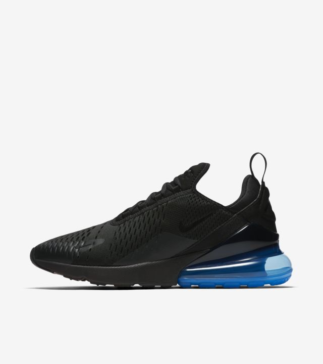 finest selection pretty cheap new high Nike Air Max 270 'Black & Photo Blue' Release Date. Nike ...